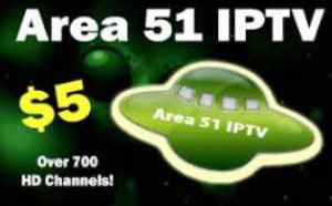 Area 51 IPTV - The most affordable IPTV service you should try!